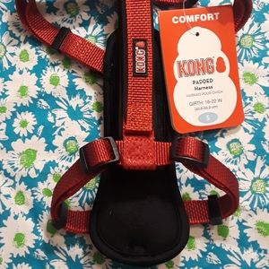 New Kong Small Comfort Harness Red
